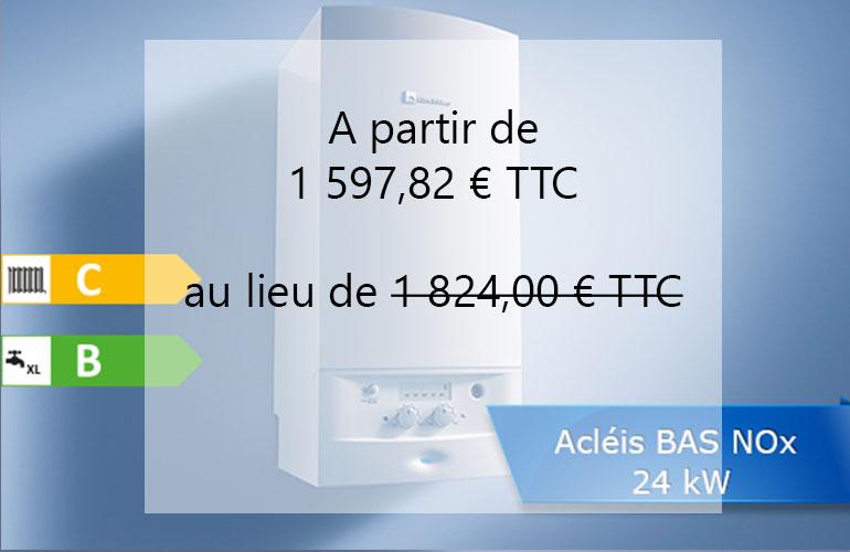 prix chaudiere gaz L'Isle-d'Abeau